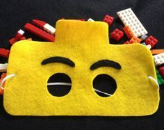 Lego masks – can you diy? Lego masks – can you diy? Lego Movie Party, Lego Birthday Party, 6th Birthday Parties, Boy Birthday, Lego Parties, Lego Party Favors, Birthday Ideas, Lego Ninjago, Ninjago Party
