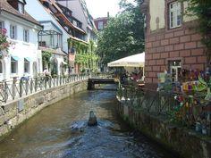 Freiburg's Old Town