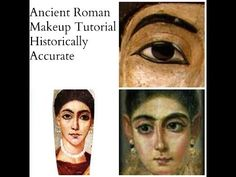 Hey everyone i hope you enjoyed this video! Keep in mind it was an latin project but i still hope you learned a few things and now know those kind of brows a. Show Makeup, Makeup Blog, Hair Makeup, Greek Makeup, Ancient Roman Clothing, Roman Hairstyles, Arabian Makeup, Roman Clothes, Ancient Rome