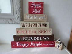 Décoration De Noël Panneau De Direction En Bois De Palette