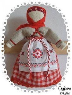 Очистительная кукла. По традиции, очистительная кукла избавляла от «плохой» энергетики в доме.