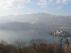 Orta Lake from Sacro Monte di Orta
