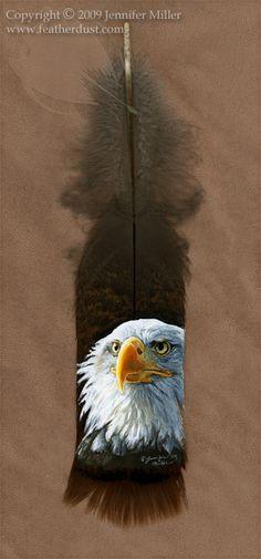 Bald Eagle Portrait by ~Nambroth on deviantART