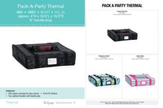 Pack a Party Thermal - https://www.mythirtyone.com/1859759