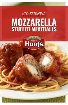 Something for them and for you. Try this tasty meatball recipe.