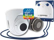 Überwachungskamera mit Wärmebildtechnik. Die Kamera sieht alles Mk1, Night, Pictures