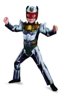 Disguise Power Rangers Megaforce Robo Knight Muscle Costume 2T