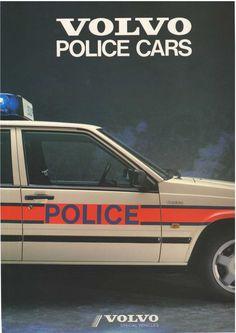 Volvo Police car brochure