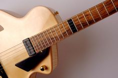 Staf Geers - nice details and a terrific idea for 12th fret marker.