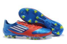 adidas F50 adizero miCoach メッシ、香川のサッカー スパイク アディダス アディゼロ F50 FG ブルー/レッド/ホワイト  --www.hool.jp