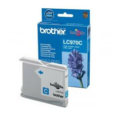 Brother original Cyan Singlepack Ink LC1000  100% Genuine Brother LC970C 300pgs Cyan Ink Cartridge. For use with the following printers:   Brother DCP-150C Brother DCP-153C Brother DCP-157C Brother DCP-750CN Brother MFC 260C Brother MFC-235C
