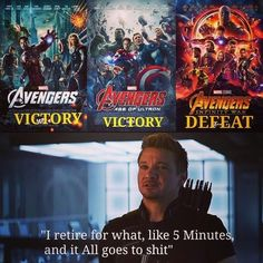 Of course they fucking got defeated in infinity war they weren't working together like the team they used to be, because Steve fucked up and split the avengers Avengers Humor, Marvel Avengers, Marvel Jokes, Funny Marvel Memes, Dc Memes, Marvel Dc Comics, Marvel Heroes, Funny Comics, Hawkeye Marvel