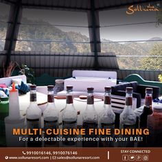 Treat yourself to a #fiesta of #flavours pampering yourself & experience an exemplary dining experience.  For reservations visit: www.sollunaresort.com Call on +91 9910016146  Use coupon code for discount- DETOX2017  #sollunaresort #resortsincorbett #luxuryresortsincorbett #deliciousfood  #food #diningexperience