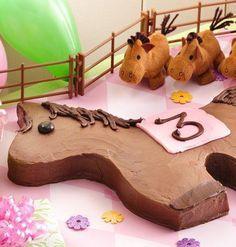 Pony Cake  {How-To Video}