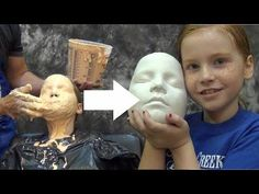 In this lifecasting tutorial we show a basic face cast using alginate. We already have a few casting videos dealing with face casts, but as any experienced l. Diy Plaster, Plaster Molds, Cement Art, Concrete Art, Image Beautiful, Life Cast, Concrete Sculpture, Face Mold, Paper Mache Clay