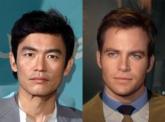 Morphs of 'Star Trek: The Original Series' Actors and Their New Film Counterparts by @Jules Ebe