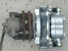 Convert original XJ brakes to new WJ brake calipers.