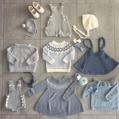 Knitting patterns baby clothes ideas 28 ideas for 2019 Baby Knitting Patterns, Knitting For Kids, Baby Patterns, Knitting Stitches, Free Knitting, Knitting Projects, Knitted Baby Clothes, Trendy Baby Clothes, Baby Girl Fashion