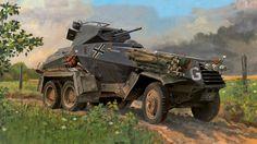 SdKfz 231 ( 6 Rad) 1941 in Russia