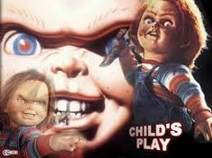Wallpaper of Child's Play for fans of Chucky 96736 Latest Horror Movies, Horror Films, Halloween Movie Night, Childs Play Chucky, The Stranger Movie, Bride Of Chucky, Blockbuster Movies, Movie Wallpapers, Scary Movies