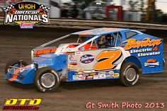 Laubach Launches to First Volusia Win in Super DIRTcar Series Feature