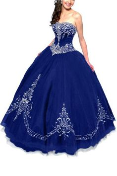 Gorgeous Bridal Retro Princess Tulle Ball Gown Quinceanera Dress Strapless- US Size 4 Gorgeous Bridal, To BUY or SEE just CLICK on AMAZON right here http://www.amazon.com/dp/B00HLCXORG/ref=cm_sw_r_pi_dp_U3mutb04Q72JXCN3