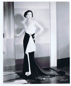 Kay Francis, The Passion Flower, 1930 (gowns by Adrian)