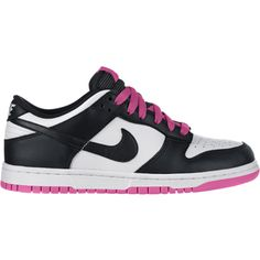 Nike Dunk Low Women's Shoe ($78) ❤ liked on Polyvore featuring shoes, sneakers, tenis, nike, sapatos, nike sneakers, rubber sole sneakers, vintage shoes, traction shoes and grip trainer