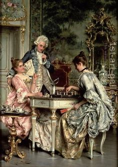 The Game of Chess by Arturo Ricci