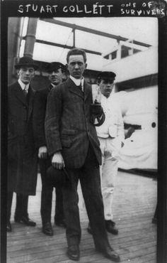 *STUART COLLETT: Titanic Survivor, 1912
