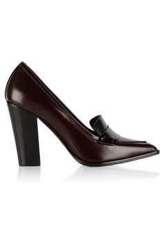 Nicholas Kirkwood | Polished-leather pumps | NET-A-PORTER.COM
