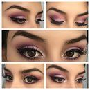 Pink make up of the day