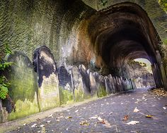 Gravestone tunnel