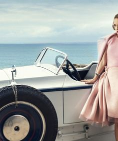 Natalie Portman in the photoshoot HARPERS BAZAAR