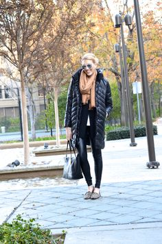 Sarah's Ambitions | Quilted Puffer Coat