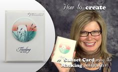 How to make a Sunset using the Masking Technique featuring the Stampin U...