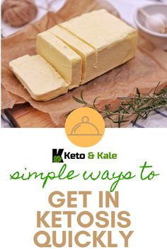 When you enter the state of ketosis, your body goes from using glucose to ketones for your fuel. This has benefits like healthy weight loss and reduced appetite. Want to know how to get into ketosis quickly? It's as easy as reducing your carb consumption and more! Check out these tips now. Keto Supplements, Healthy Weight Loss, Simple Way, Kale, Benefit, How To Get, Diet, Check, Food