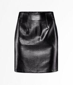 H - Ya en tiendas - Mujer Faldas De Piel 14ad0dda7986