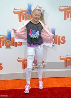 Actress JoJo Siwa arrives for the Premiere Of 20th Century Fox's... News Photo | Getty Images