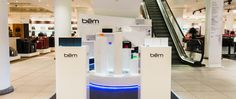 bem wireless in-store display @ Selfridges in London