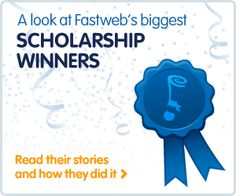 Match your needs to a scholarship with fastweb.com. Thousands of #scholarships at your fingertips.