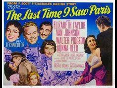 La última vez que vi París (The last time I saw Paris). 1954 - Elizabeth Taylor y Van Johnson - PARTE 2 en español.