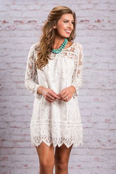 Leave An Impression Ivory White Lace Dress Country Dresses, Country Outfits, Country Girls, Bridesmaids, Western Dresses For Women, Western Wedding Dresses, Casual Country Wedding, Short Country Wedding Dress, Outfits