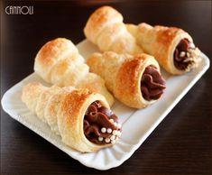 Cannoli al cioccolato mignon, ricetta finger food