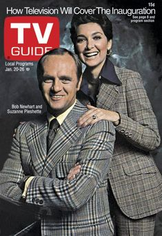January 20, 1973 ... Bob Newhart and Suzanne Pleshette on TV guide cover...my favorite show
