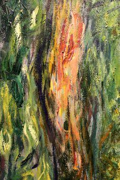 """l tronco del """"Salice piangente"""" di Monet, 1918"""