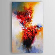 Handgeschilderde+Abstract+Abstracte+landschappen+Verticaal,Modern+Eén+paneel+Canvas+Hang-geschilderd+olieverfschilderij+For+Huisdecoratie+–+EUR+€+90.35