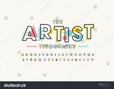 Find Vector Modern Abstract Font Alphabet stock images in HD and millions of other royalty-free stock photos, illustrations and vectors in the Shutterstock collection. Handwritten Fonts, Typography Fonts, Typography Design, Logo Design, Graphic Design, Calligraphy Fonts, Script Fonts, Lettering Tutorial, Abc Letra