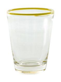 Hand-Blown Juice Glasses (Set of 4)