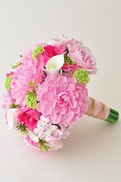 Clay wedding bouquet